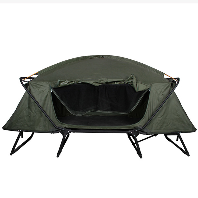 canvas off ground Car Roof tent outdoor aluminium fold fishing camping waterproof tent bed