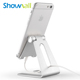 Aluminium alloy multiangle adjustable metal mobile holder for iphone stand