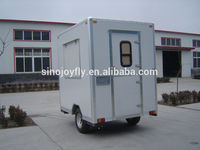 Multifunctional famous wing opening box van with great price