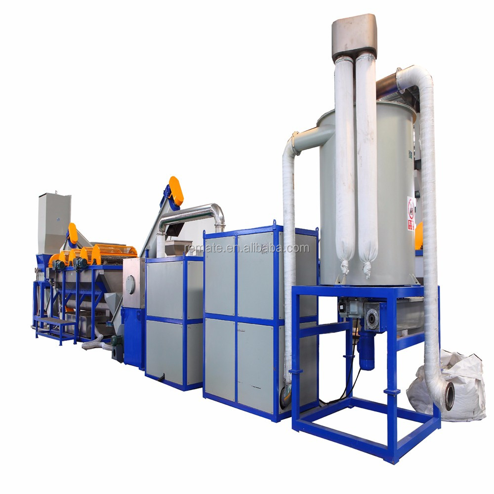 PP PE waste film woven bag used plastic cleaning recycling line 800-1000 kg/h