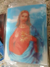 hot selling jesus image 3d picture pp material