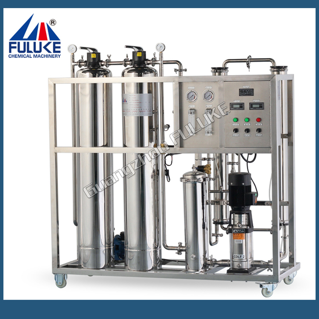 Cosmetic industry chemicals Ro pure water purifying machine equipment plant
