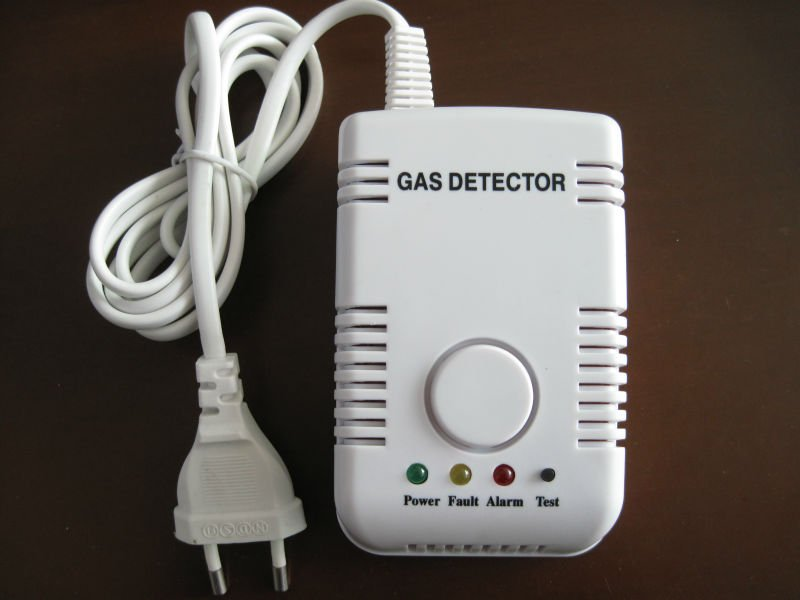 Natural gas alarm kitchen safety accessory