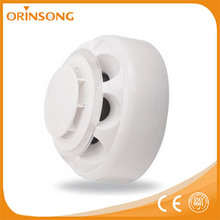 Factory price DC 10-35V wall or ceiling mounted independent photoelectric fire alarm heat and smoke detector