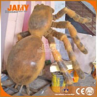 Hot Sale Outdoor Craft Life Size Animatronic Insect Model of Gaint Spider