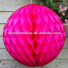 Hot sale Tissue Paper Honeycomb Balls for Party Wedding Decorations