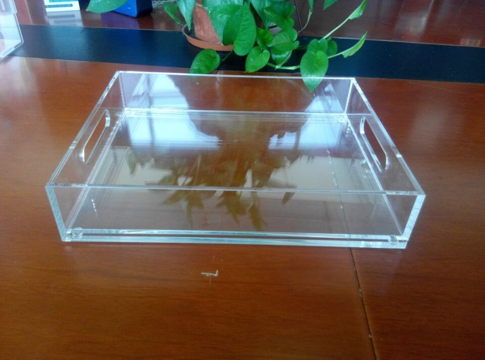 Top Grade Clear Acrylic Cupcake Display Serving Trays