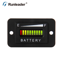 LED Battery Meter Charge Discharge Indicator Gauge Used For Ebike,Electromobile,EV,Forklift,Golf Cart,Club Car