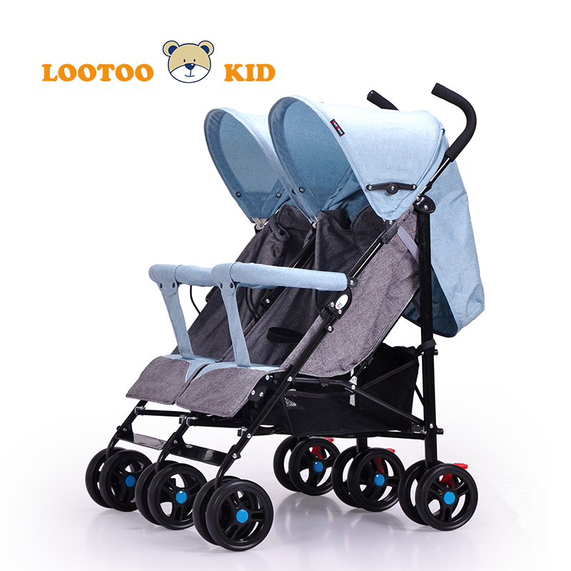 Alibaba china manufacturer hot sale easy foldable lovely baby stroller car seat for twins