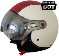 DOT approved half face scooter helmet