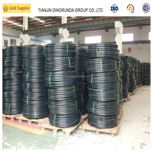 Agricultural hdpe Coiled Solid Wall Irrigation Pipe