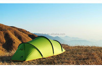 3F Gear High quality 15D 4 season Tunnel professional silicon PU coating 2 layer camping tent with 7075 aluminium pole