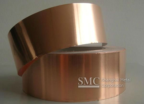 electrodeposited copper tape