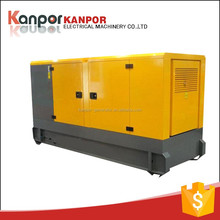 Made in china New design 30KW brushless AC three phase silent diesel generator