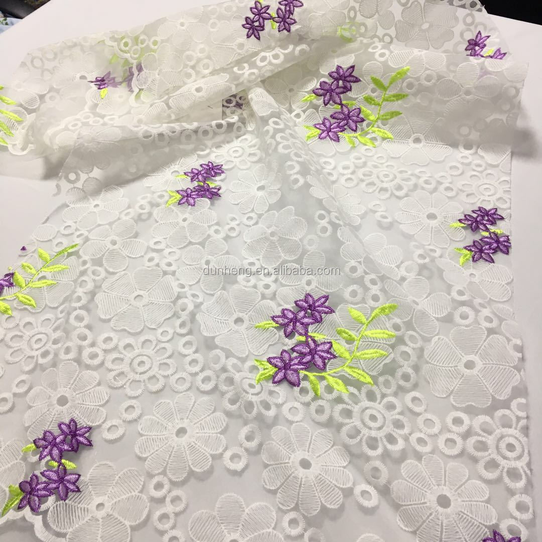 2018 New Fashion Design of Embroidery for Garment