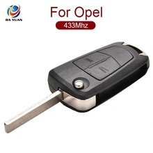 Original For Opel Corsa Folding keys 2 button with 434Mhz ID46 PCF7941 chip [AK028019]