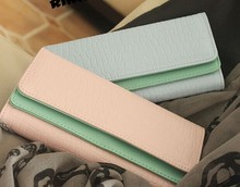 D61317TT 2014 KOREAN NEW STYLE DUAL CLAMSHELL WOMEN'S WALLET