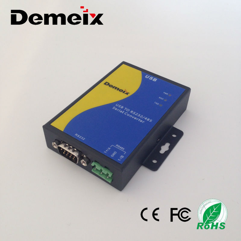 N1 USB to RS485 RS232 converter optical isolation female rs232 to usb used to connect PC with electric meter