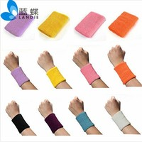 High quality Sports Wrist Sweatband Tennis Squash Badminton Running GYM Wristband