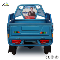 48V 650w China adult electric folding small cargo tricycle for sale