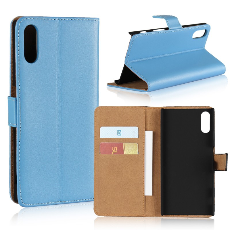 Mobile Phone Accessories Flip Cover Leather Wallet Case for Sony Xperia XZ / XZs Etui Capinhas Capa Coque