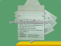 watermark paper security certificate color printing with hologram