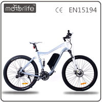 MOTORLIFE/OEM CE EN15194 chinese cheap 2016 best electric mountain bikes electric motorcycle buy electric bike in china