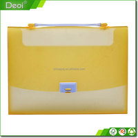 2016 Best-sale felt document PP plastic portfolio box with good quality