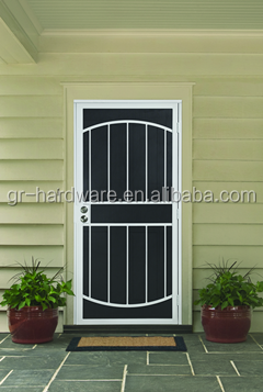 wrought iron glass door panels Hot selling wrought iron glass door panels with low price