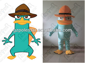 custom perry mascot costumes