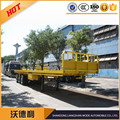Tri-axle Platform Semi Trailer sales