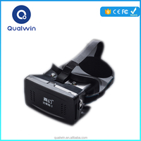 Resonable Price Qualwin RITECH 2nd ABS Plastic Version VR Virtual Reality Glasses Magnet 3D Glasses For Smartphone