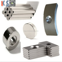 Supplier Large Super Strong Sintered Rare Earth Neodymium Magnet Products