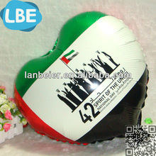 Promotional gifts foil balloon uae national day items