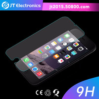 newest desktop color privacy factory promotion shield holographic material tempered glass screen protector for iphone 6