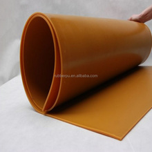 shore hardness polyurethane PU sheet anti slip rubber sheet