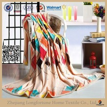 Manufactory alibaba china home textile custom warm flannel fleece blanket stocks 2ply or 1ply luxury blanket with dog
