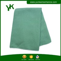 Microfiber cleaning cloth waffle microfiber lens/screen cleaning cloth