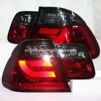 For BMW for E46 LED Tail Lamp 2001-2005 Year Red Black Color 4 doors SN