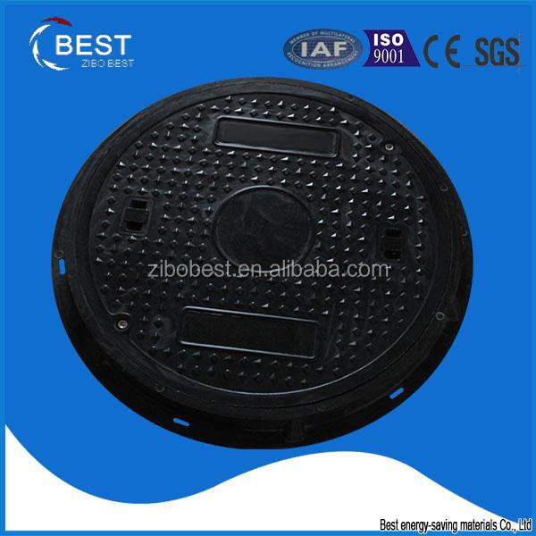 Composite Plastic Ground Cover, Rubber Gasket