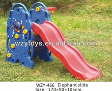 Plastic elephant children slide for sale
