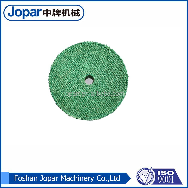 Sisal buffing wheel for stainless steel pipe and metal