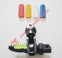 Hot-sale Rear Foot Pegs Pedal 8mm Hole Fit For Honda Yamaha Suzuki ZX BMW