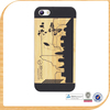 Hot Sell wooden phone case for iphone 5 5S, Mixed woods & Retail packing