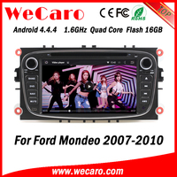Wecaro WC-FU7608 Android 4.4.4 car dvd player HD for ford mondeo multimedia 2007 - 2010 USB SD