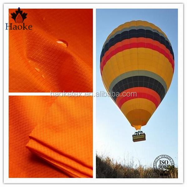 balloon cover fabric / nylon 66 ripstop hot air balloon fabric