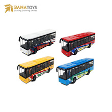 Reality model diecast bus vehicle toys for kids