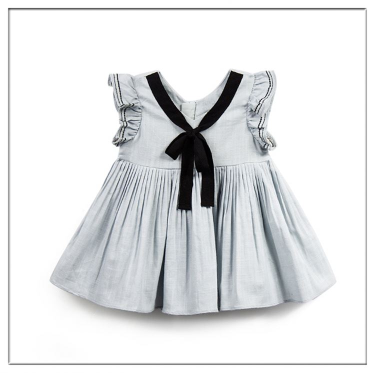 Bulk Wholesale Kids Clothing Sleeveless Wedding Dresses Girls Party Dresses