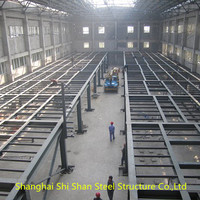 Single Layer Equipment Steel Structure Platform