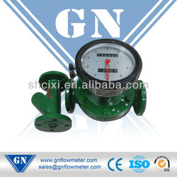 Asphalt/bitumen/conduction oil high temperature Oval Gear Flow Meter